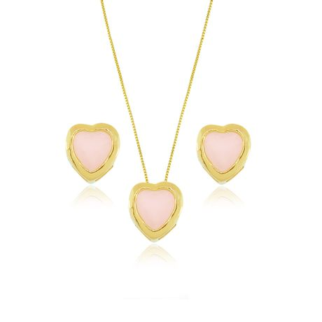 Conjunto-Dourado-Coracao-Pequeno-Quartzo-Rosa---00034602