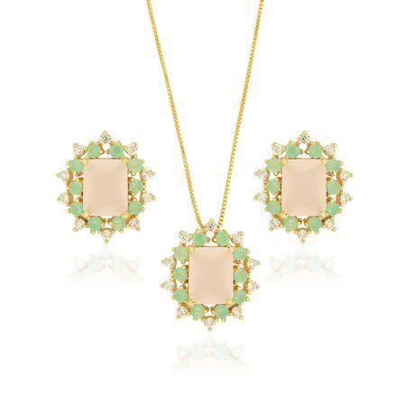 Conjunto-Dourado-Pedras-Verde-Agua-e-Quartzo-Rosa---00034450