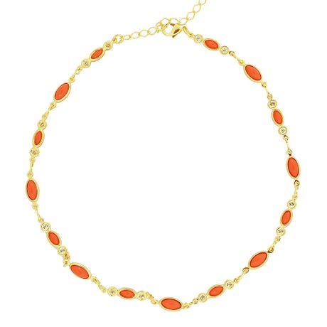 Gargantilha-Choker-Dourado-Navetes-Coral--00035133