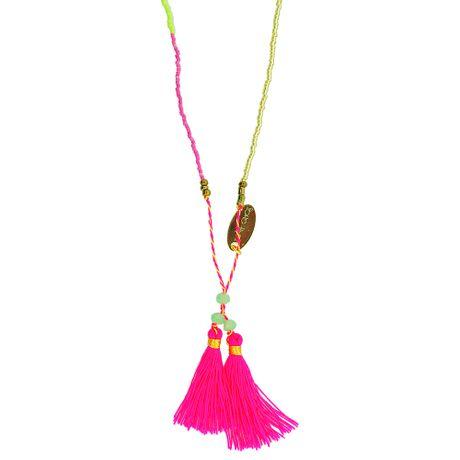 Colar-Longo-Color-e-Tassel-Rosa-Fluorescente---00035313
