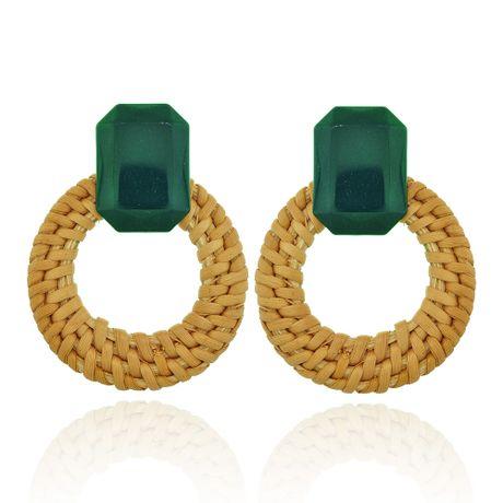 Brinco-Argola-Rustico-Pedra-Verde---00035529