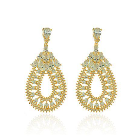 Brinco-Dourado-Gotas-e-Zirconia-Cristal---00035487