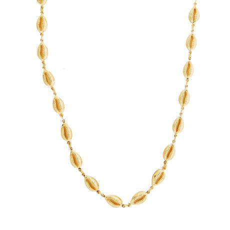 Colar-Longo-Buzios-Dourado---00035635