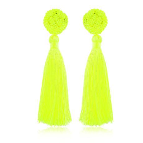 Brinco-Pri-Tassel-Verde-Neon---00035958