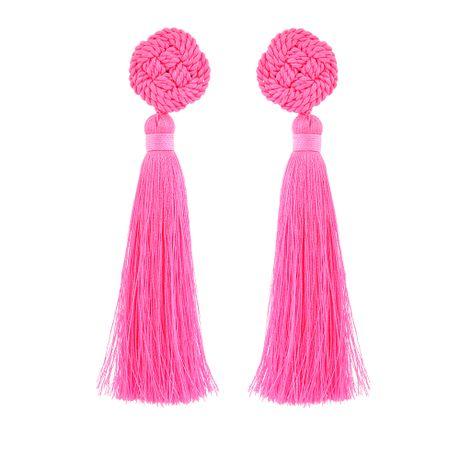 Brinco-Pri-Tassel-Pink-Neon---00035956