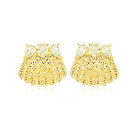 Brinco-Dourado-Concha-e-Pedras-Cristal---00036101