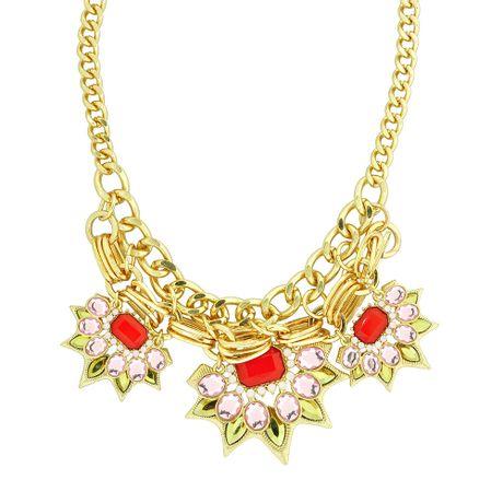 Maxi-Colar-Dourado-Pedras-Rosa-e-Vermelho---00036678