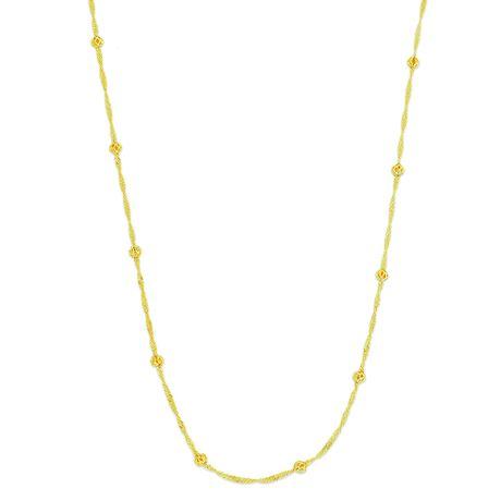 Colar-Corrente-Torcida-Bolinhas-Dourado---00036522
