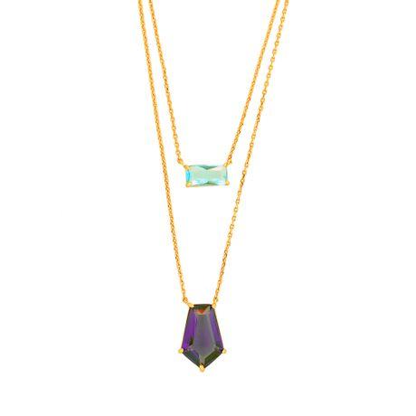 Colar-Duplo-Rose-Pedras-Aquamarine-e-Ametista---00036512