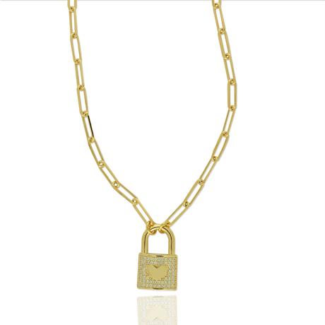 00043711-Colar-Dourado-Cadeado
