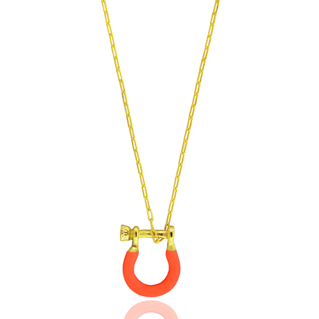 00043670-Colar-Dourado-Lock-Laranja-Neon