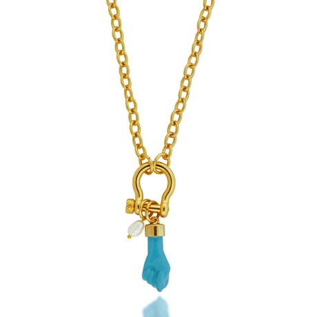 00043790-Colar-dourado-lock-pingente-figa-azul