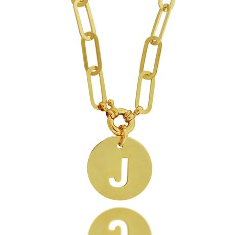 00043777-Colar-Dourado-Placa-Letra-J