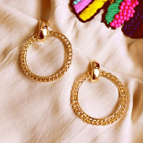argola-dourada-corrente-ouro-argola-grande-ouro-corrente