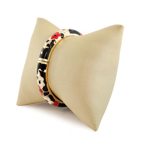 bracelete-preto-dourado-flores-00046574-