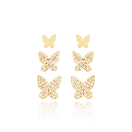 00047896--trio-brinco-dourado-borboleta